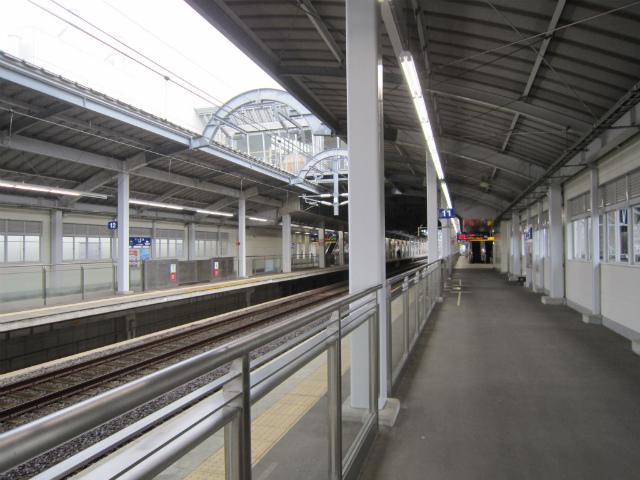 川内新幹線ホーム
