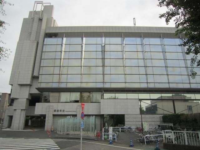 信濃町駅舎