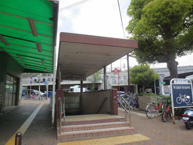 湊川公園 駅舎