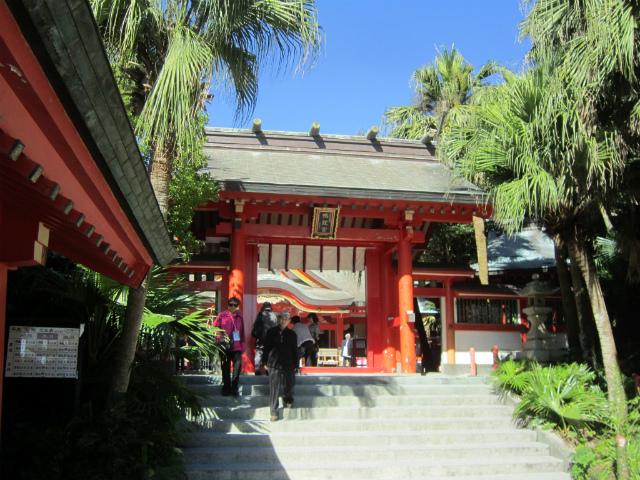 青島神社入り口