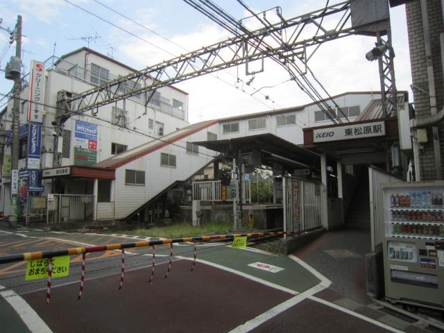 東松原駅舎