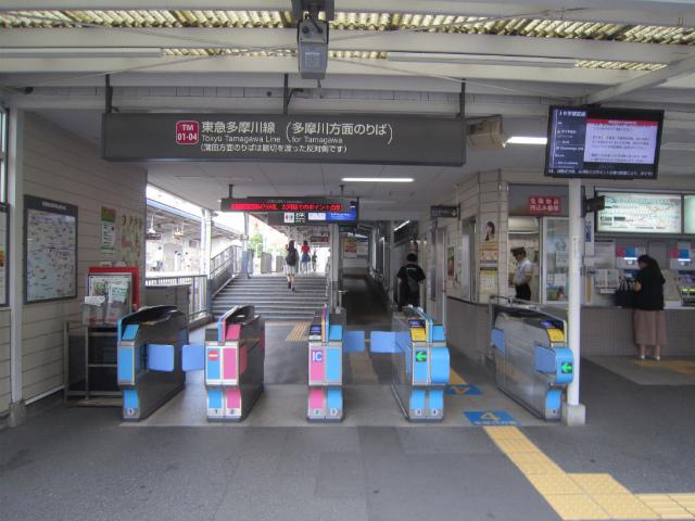 武蔵新田多摩川改札