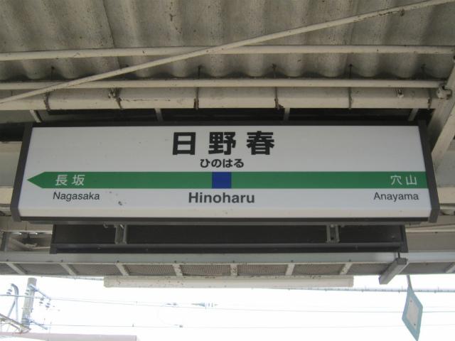 日野春駅名