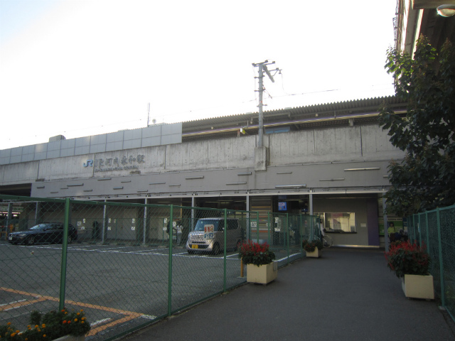 河内永和jr駅舎