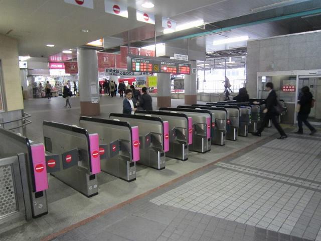 京急川崎中央改札