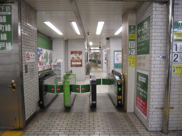 飯田橋東口改札