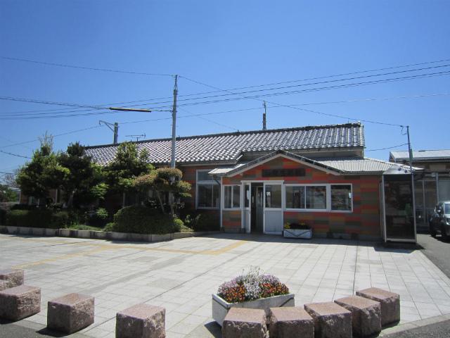 加賀笠間西口駅舎