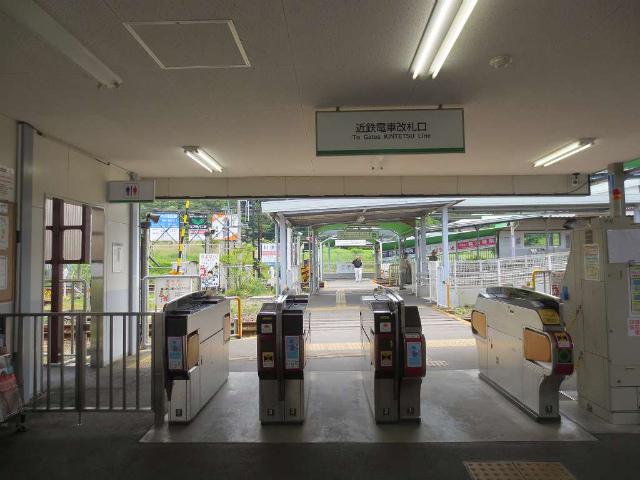 伊賀神戸 近鉄改札