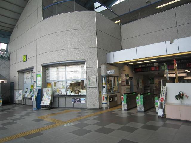 安中榛名駅舎内部