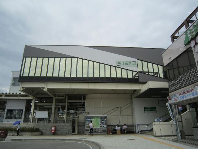 塩山南口駅舎
