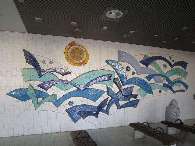 勝田待合室壁画