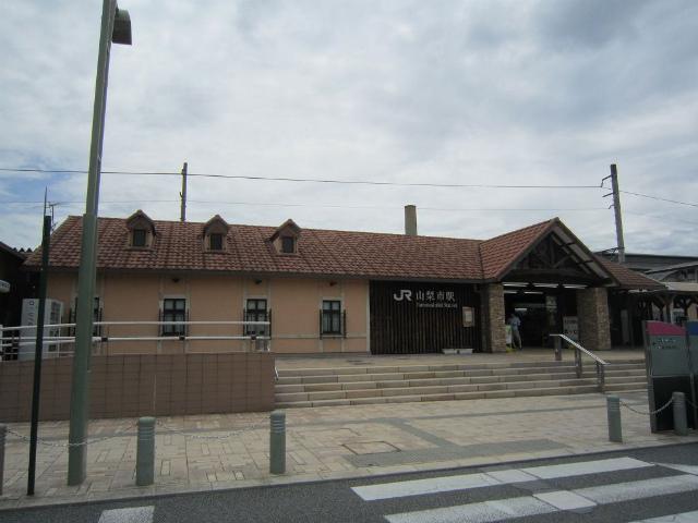山梨市駅舎