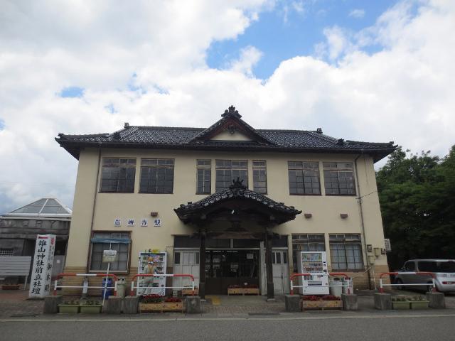 岩峅寺 駅舎