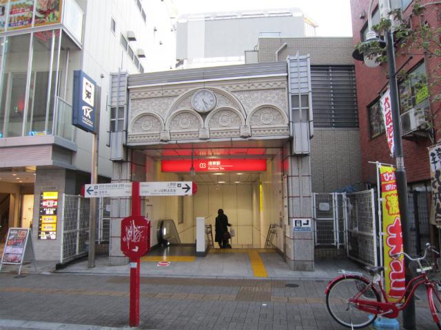 浅草TX駅舎