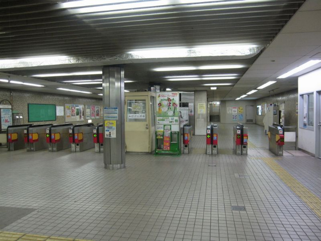 住之江公園駅 北改札