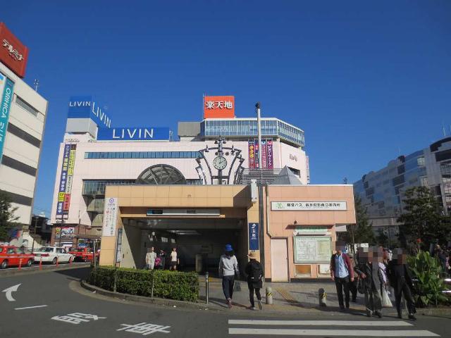 錦糸町 地下鉄駅舎