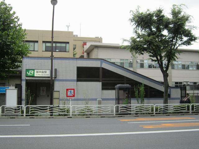 越中島駅舎