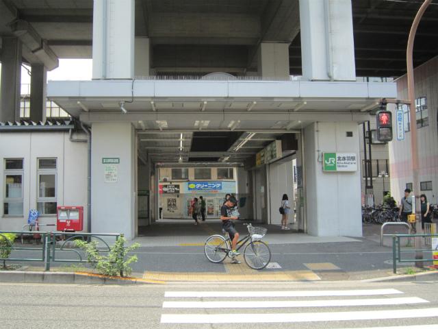 北赤羽北駅舎