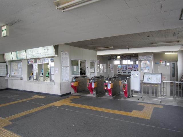 塩浜駅舎内部