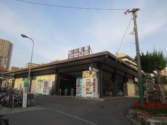 桜の宮 駅舎