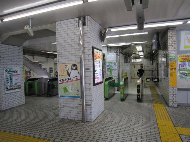 飯田橋東改札