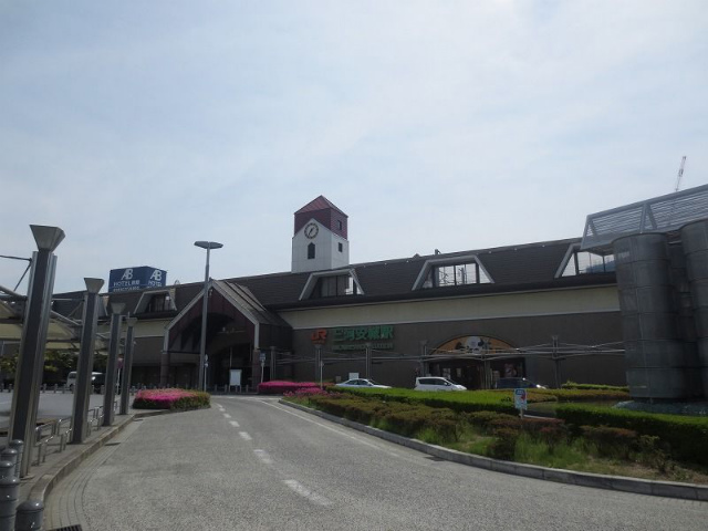 三河安城 新幹線駅舎