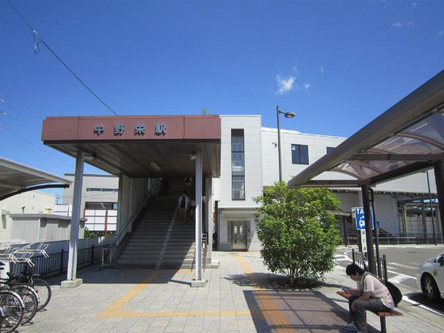 中野栄駅舎