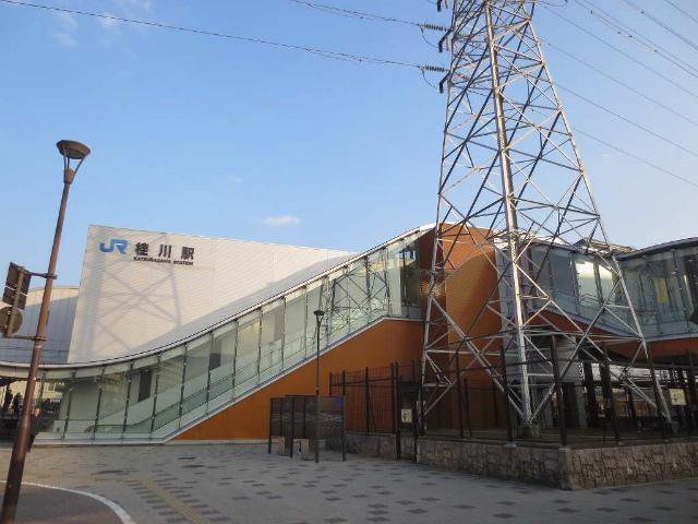 桂川 駅舎