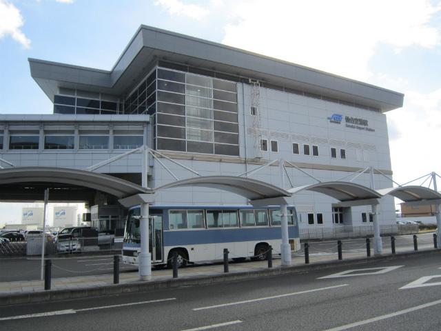 仙台空港駅舎