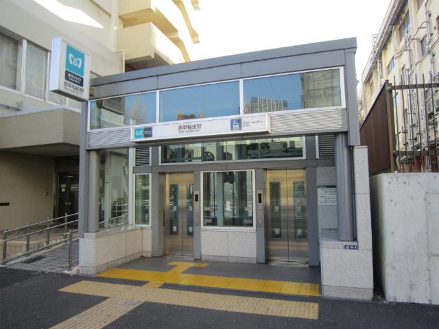 西早稲田駅入り口
