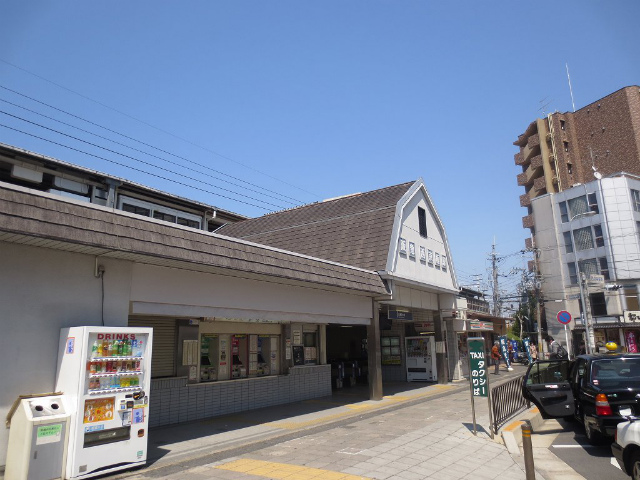 西京極 駅舎