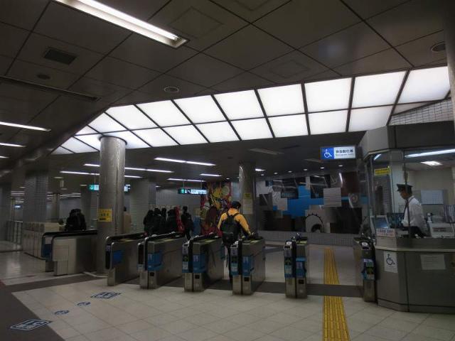 和田岬 地下鉄改札