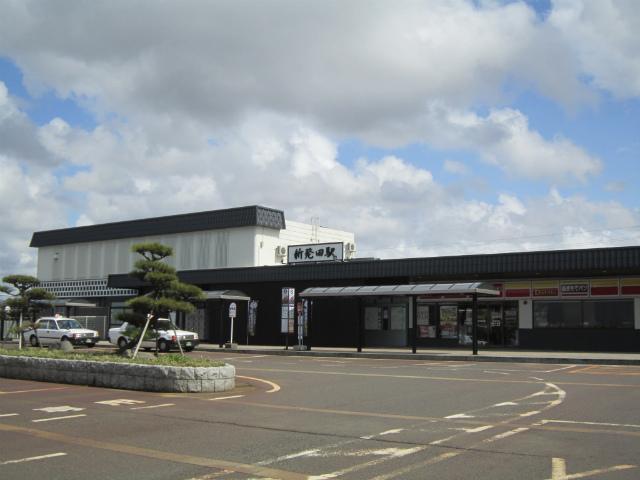 新発田駅舎