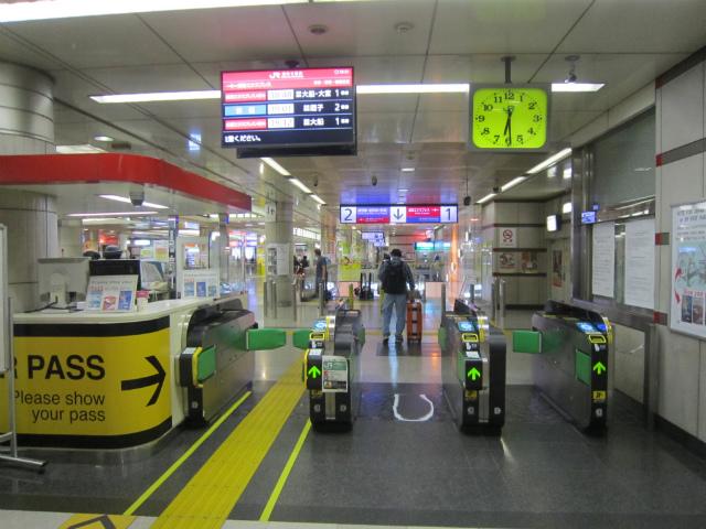 成田空港jr入場