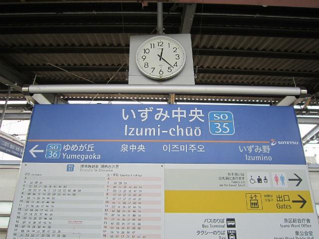 いずみ中央駅名