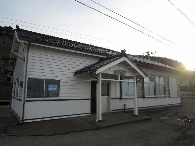 有間川駅舎