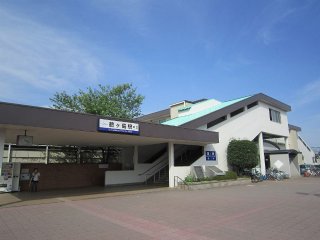 鶴ヶ島駅舎