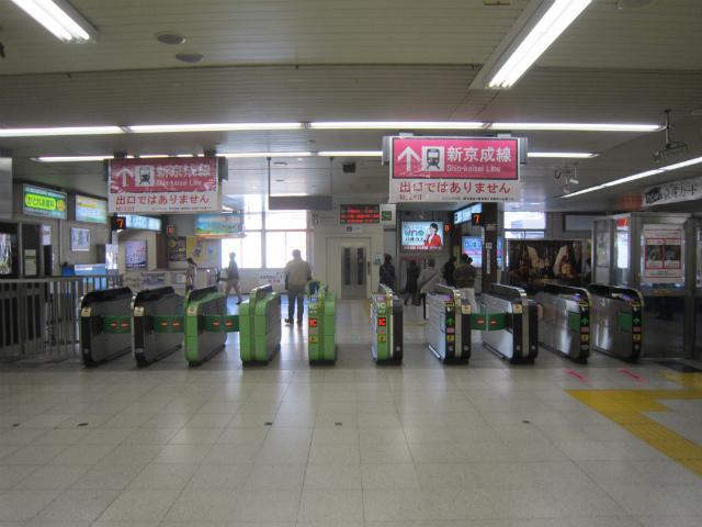 松戸駅新京成乗り換え南