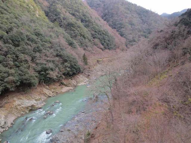 保津峡 川