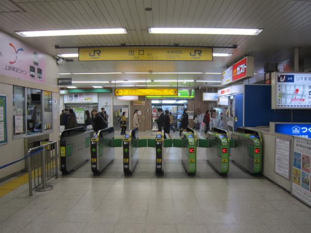 松戸駅中央改札出口