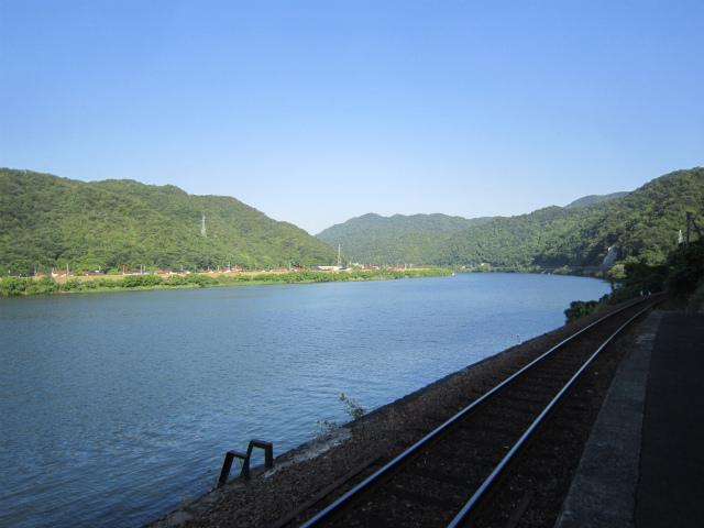 江津本町江の川
