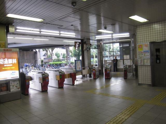 駒川中野駅 改札
