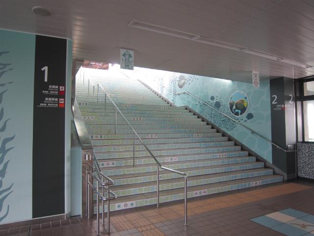 葛西臨海公園階段