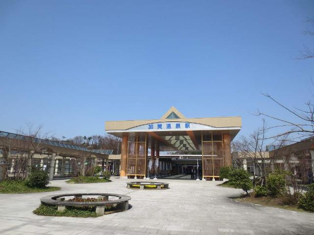 加賀温泉 駅舎