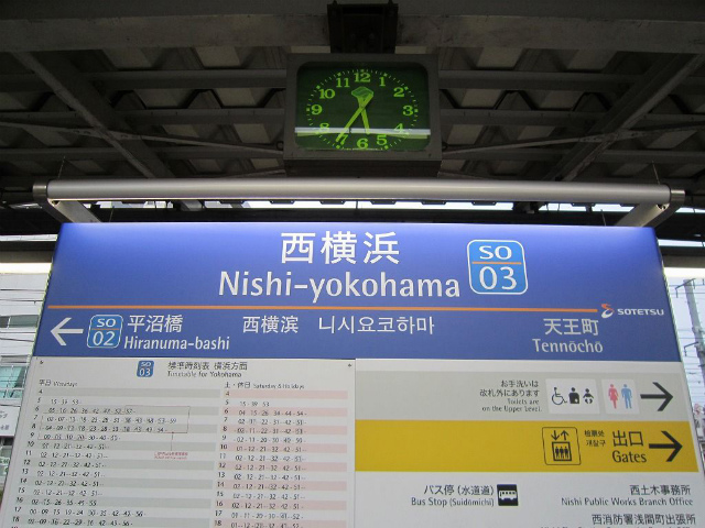 西横浜駅名