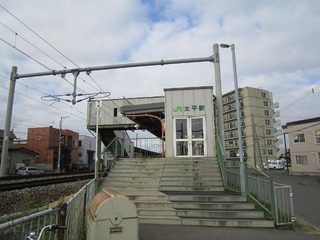 太平西駅舎