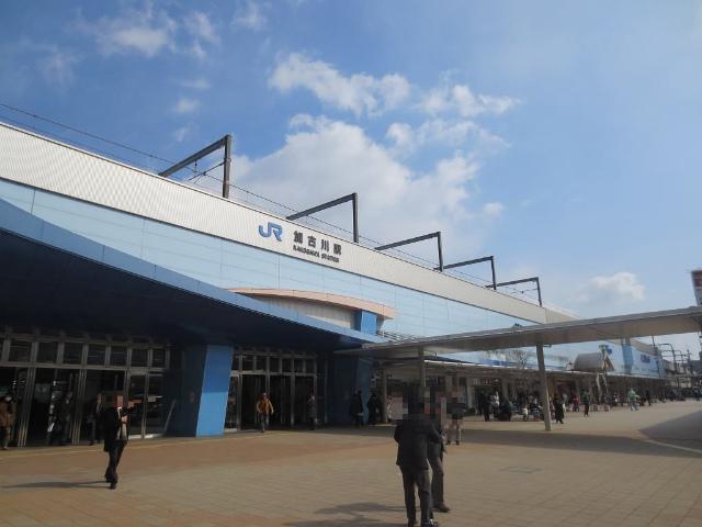加古川 駅舎