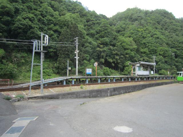 口羽駅全景