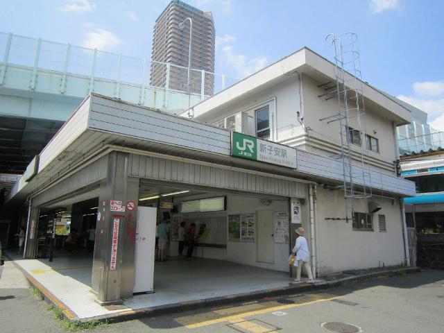 新子安駅舎