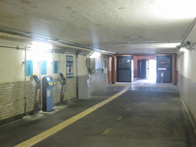 永原駅 改札